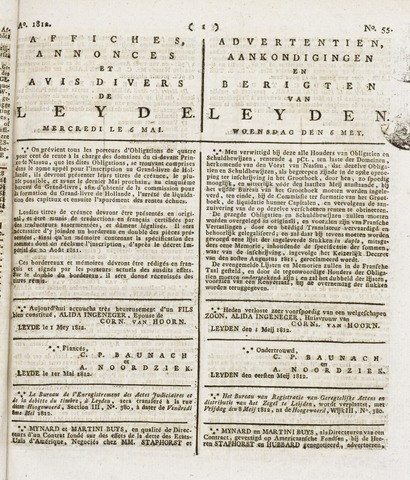 Leydse Courant 1812-05-06