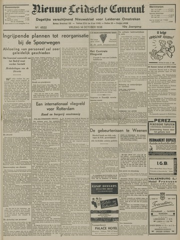 Nieuwe Leidsche Courant 1938-10-14