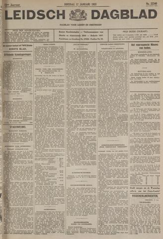 Leidsch Dagblad 1933-01-17