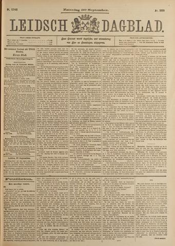 Leidsch Dagblad 1899-09-30