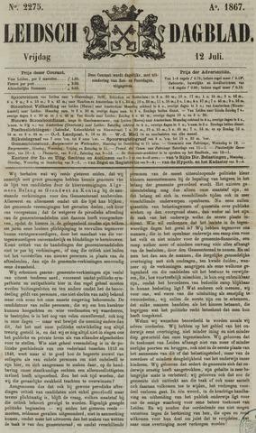 Leidsch Dagblad 1867-07-12