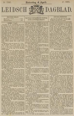 Leidsch Dagblad 1885-04-04