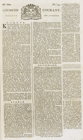 Leydse Courant 1825-11-04
