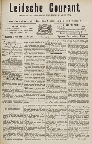 Leydse Courant 1885-06-01