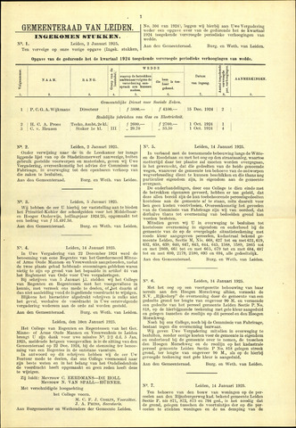 Handelingen van de Raad 1925-01-02