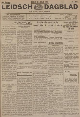 Leidsch Dagblad 1938-01-11