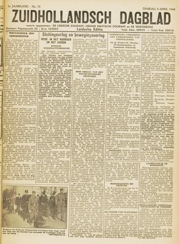 Zuidhollandsch Dagblad 1944-04-04