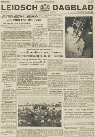 Leidsch Dagblad 1956-08-29