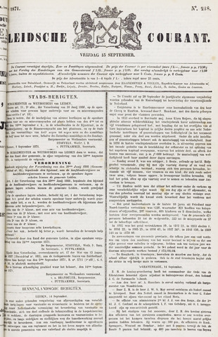 Leydse Courant 1871-09-15