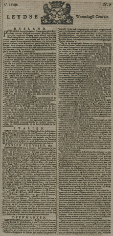 Leydse Courant 1749-01-15