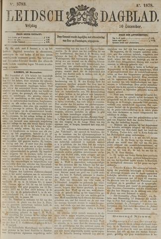 Leidsch Dagblad 1878-12-20