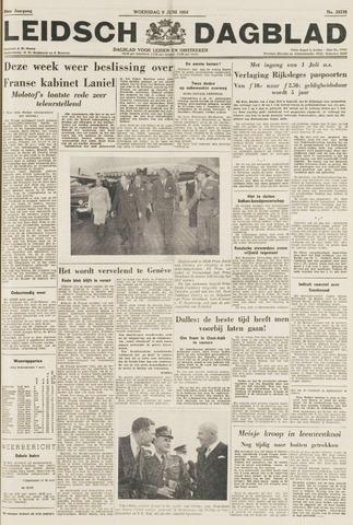 Leidsch Dagblad 1954-06-09