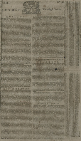 Leydse Courant 1743-11-13