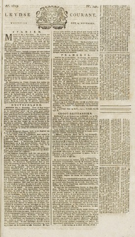 Leydse Courant 1819-11-24