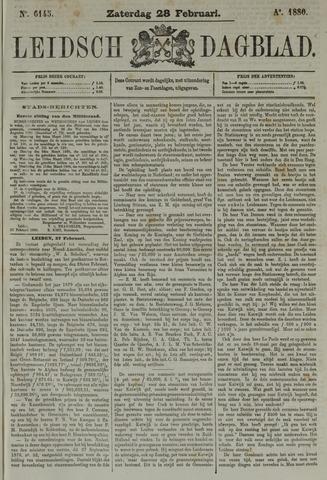 Leidsch Dagblad 1880-02-28