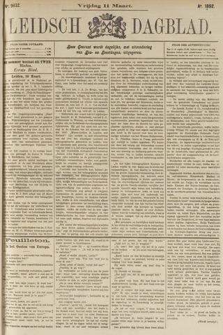 Leidsch Dagblad 1892-03-11