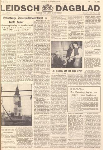 Leidsch Dagblad 1949-12-20