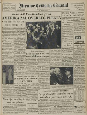 Nieuwe Leidsche Courant 1957-05-15