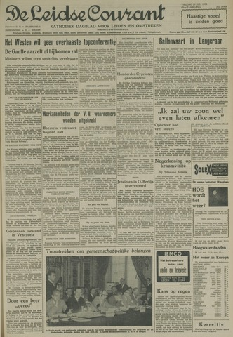 Leidse Courant 1958-07-25