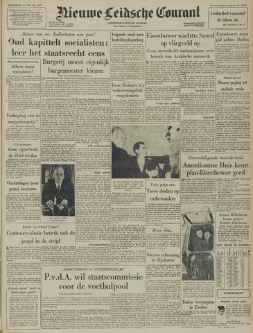 Nieuwe Leidsche Courant 1957-01-31