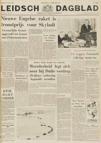 Leidsch Dagblad 1963-02-21
