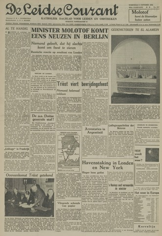 Leidse Courant 1954-10-06