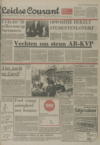 Leidse Courant 1974-10-09