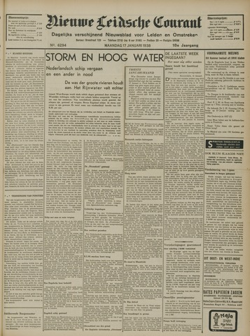 Nieuwe Leidsche Courant 1938-01-17