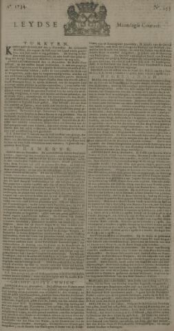 Leydse Courant 1734-12-27