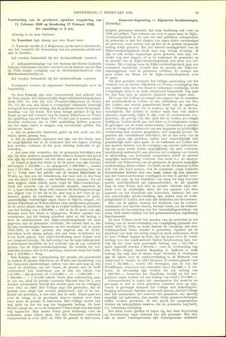 Handelingen van de Raad 1938-02-17
