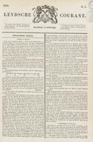 Leydse Courant 1854