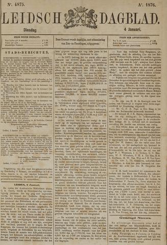 Leidsch Dagblad 1876-01-04