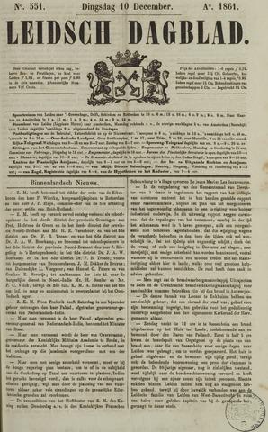 Leidsch Dagblad 1861-12-10