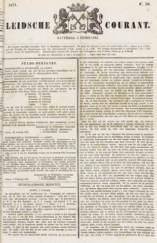 Leydse Courant 1871-02-04