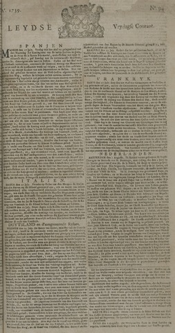 Leydse Courant 1739-08-07