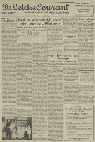 Leidse Courant 1949-02-07
