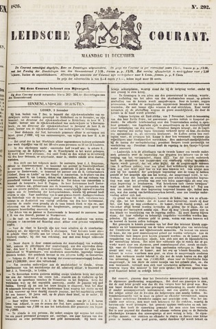 Leydse Courant 1876-12-11