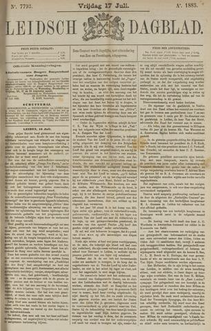 Leidsch Dagblad 1885-07-17
