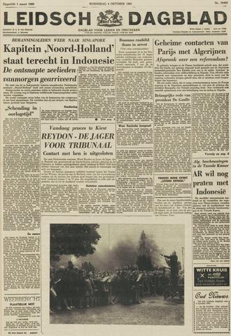 Leidsch Dagblad 1961-10-04