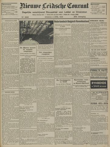 Nieuwe Leidsche Courant 1939-04-04