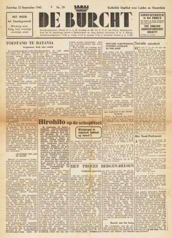 De Burcht 1945-09-22