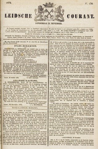Leydse Courant 1872-11-21