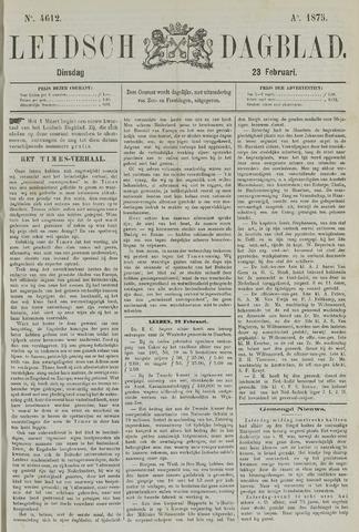Leidsch Dagblad 1875-02-23