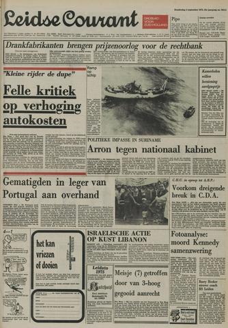Leidse Courant 1975-09-04