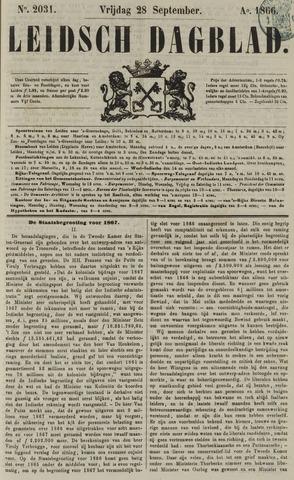Leidsch Dagblad 1866-09-28