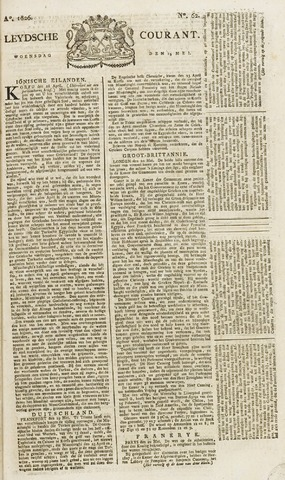 Leydse Courant 1826-05-24