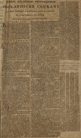 Leydse Courant 1795-09-04