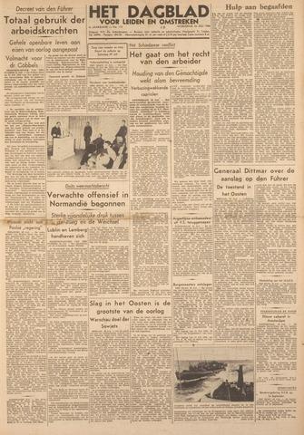 Dagblad voor Leiden en Omstreken 1944-07-26