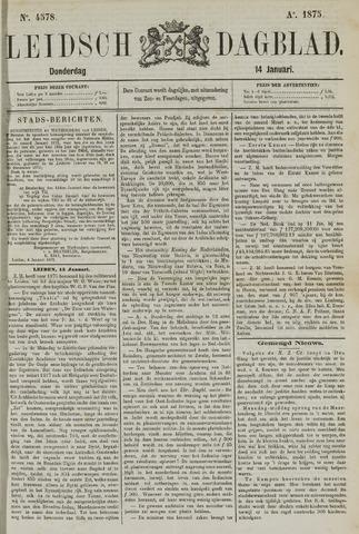 Leidsch Dagblad 1875-01-14