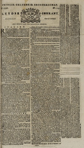 Leydse Courant 1796-10-26